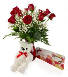 Dozen Roses Bundle