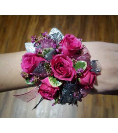 Pink Charm Corsage