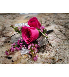 Pink Charm Boutonniere