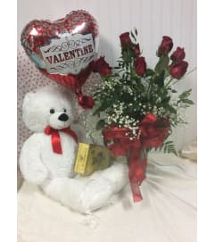 Valentines Rose Bundle