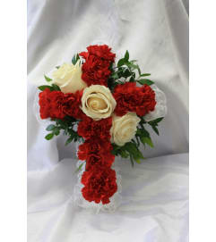 Satin Cross 1 for Inside Casket