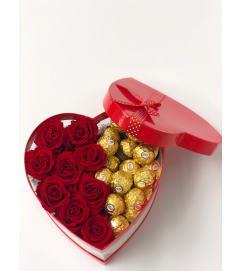 Gift box Heart shape