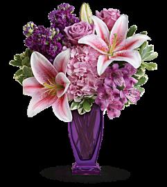 Blushing violet
