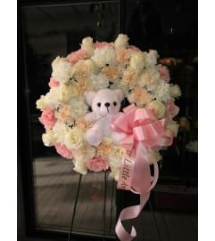 Sweet Angel Wreath
