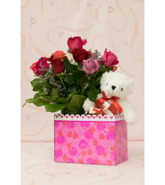 Valentine Box Special - Mixed Roses