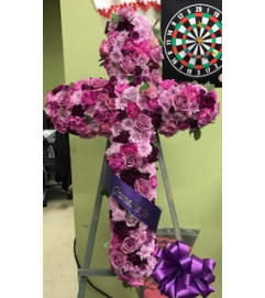 Purple & Lav You Are Standing Cross