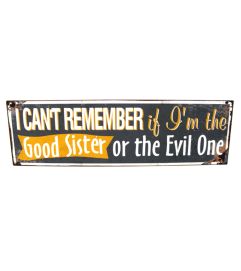 Good sister/Evil Sister Sign addon I