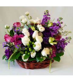 Sweet Purple Basket
