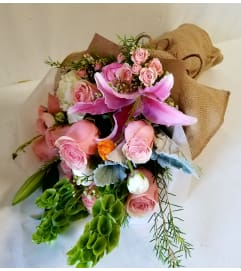 True Pink bouquet
