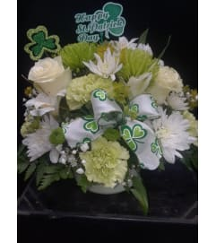 ST PATRICK'S DAY CENTERPIECE
