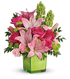 Teleflora - In Love with Lime Bqt