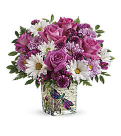 Telefloras Wildflower In Flight Bouquet