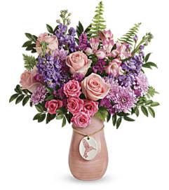 Telefloras Winged Beauty Bouquet