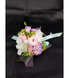 Pastel Perfection Wrist Corsage