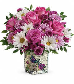 Wildflower In Flight Bouquet by Teleflora