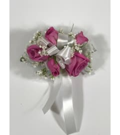 Lavender Mini Rose Wrist Corsage     *PLEASE CALL TO ORDER*