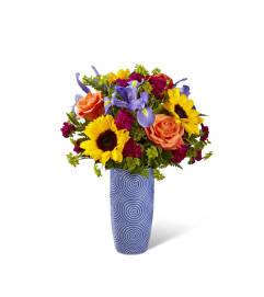 Embossed Pattern Vase