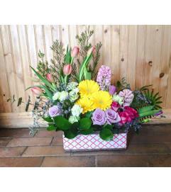 Spring Planter Box