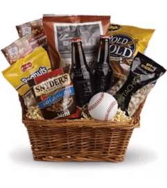 Take Me Out to the Ballgame Basket by Teleflora
