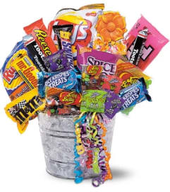 Junk Food Bucket by Teleflora