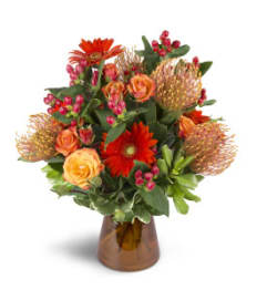 Energetic Orange Arrangement