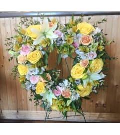 Classic Garden Sympathy Wreath