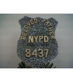 Custom New York City Police Badge