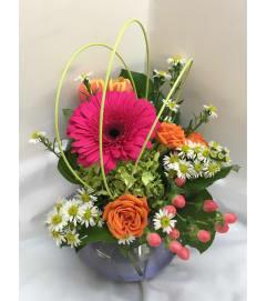 Rosy Posy Bouquet