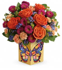 Gratitude Butterfly Bouquet