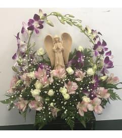 Praying   Angel Arrangement