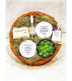 Oh Natural Spa Basket