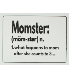 Momster wall art I