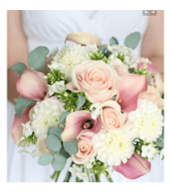 Brides. Bouquet