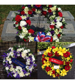 Memorial Day Wreaths - CALL us to order