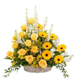 Ray of Sunshine Basket Tribute DW