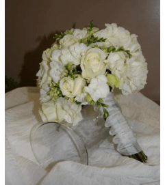 Romantic Cream and White Bouquet