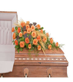 Fall Splendor Casket Spray DW