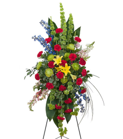 Teleflora - Treasured Celebration Easel Spray