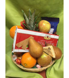 Fruit and Goodie Basket