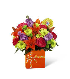 The Set to Celebrate™ Birthday Bouquet by FTD®