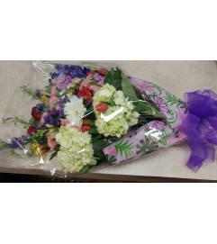 Seasonal Wrapped Bouquet