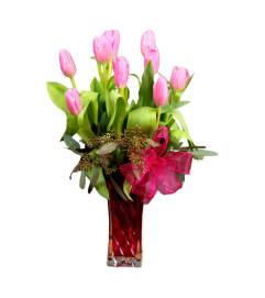 Precious Tulip Vase