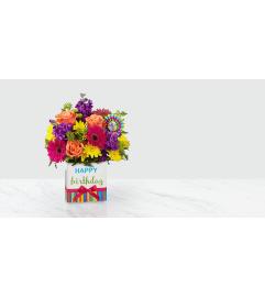 Happy Birthday Brights Bouquet