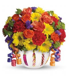 Brilliant Birthday Blooms Bouquet