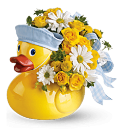 Ducky Delight Bouquet - Boy