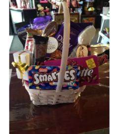 Chocolate and Treats Basket by Floratechnics