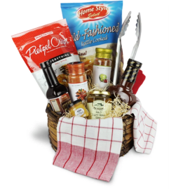 Smokin' Hot BBQ Basket™ by Lovingly