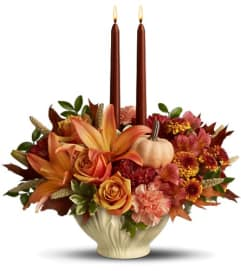 Lenox Gift of Autumn by Teleflora