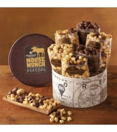 Harry & David Moose Munch Popcorn Tin