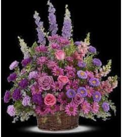 TF Gracious Lavender Basket